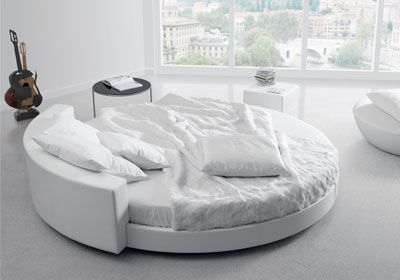 Emejing letto rotondo economico ideas - Misure letto rotondo ...